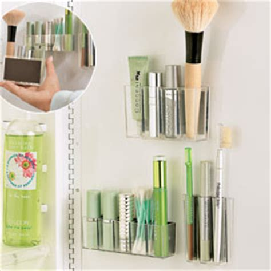 Small Bathroom Makeup Storage by Magnapods Makeup Organizers Bathroom
