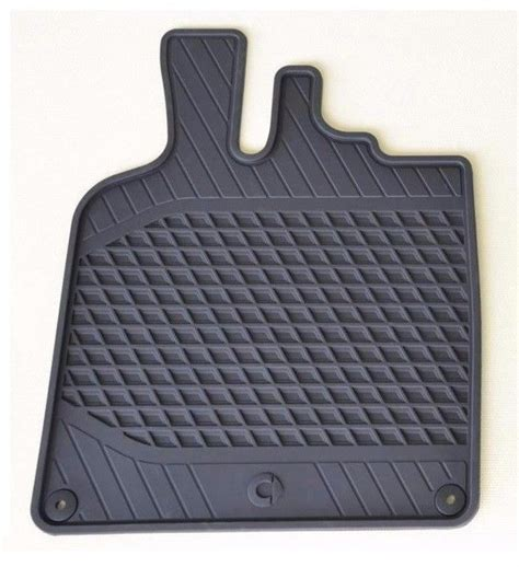 Smart Fortwo Floor Mats by Genuine Oem Smart Car All Season Floor Mats In Black 08 15 Fortwo A451 C451 Ebay