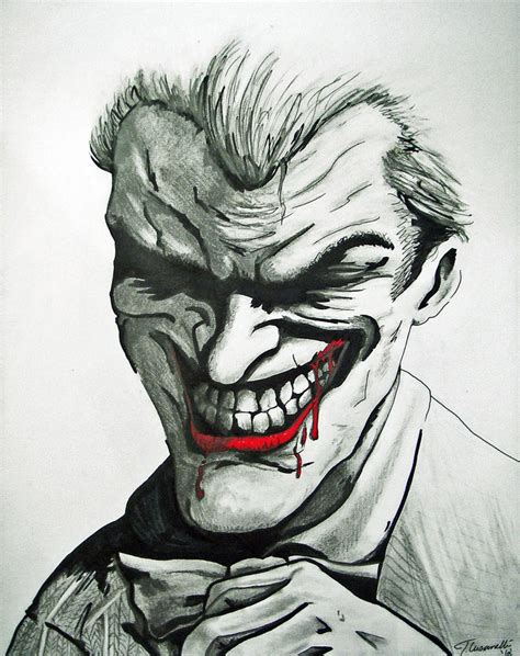 Drawing Joker by How To Draw Joker Arkham