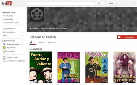 google youtube peliculas peliculas online gratis en espa 241 ol y con subt 237 tulos