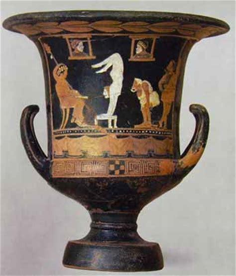 vasi greci a figure rosse ceramica greca stile a figure rosse