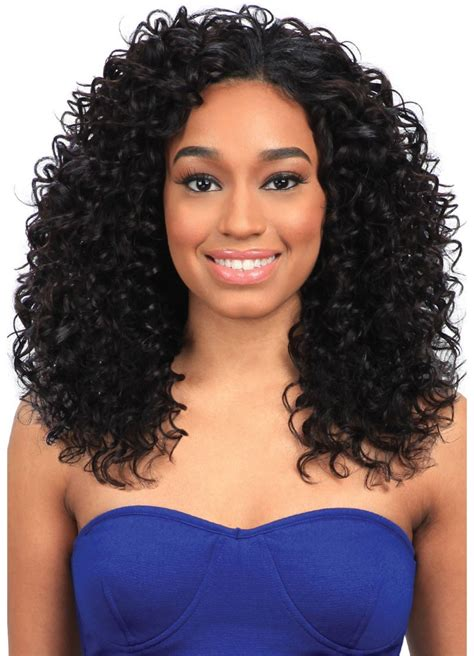 Wave Weave Hairstyles by Model Model Clean 100 Human Hair Weave Wave 5 Pcs 1