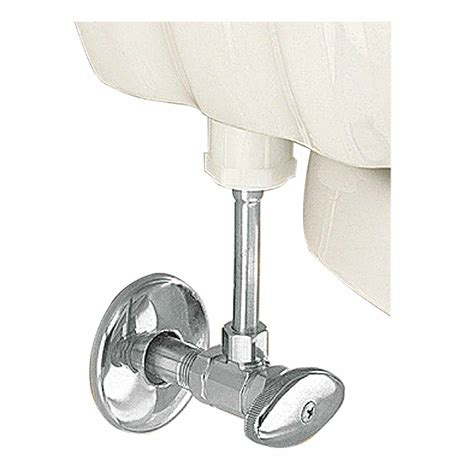 Dining Room Table Protector by Toilet Angle Stop Valve Chrome Brass Flange 12 Quot Supply Line