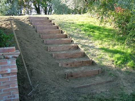 costruire giardini costruire dei gradini in giardino cerca con