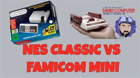 nes mini famicom mini nintendo nes classic mini vs famicom mini differences and which to buy rgt 85