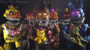 We all are still your friends fnaf sfm wallpaper by kana the drifter