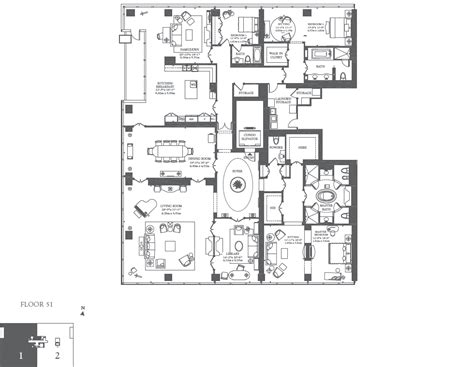 ritz carlton floor plans floorplan the valencia c o the residences at ritz carlton