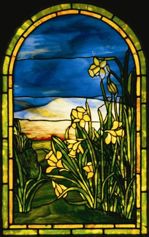 the art glass of louis comfort tiffany window louis comfort tiffany wikiart org