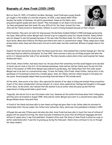 author biography template ks2 year 6 biography and autobiography by stefanietuesday