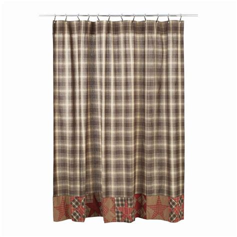 Patchwork Shower Curtains - dawson patchwork shower curtain primitive