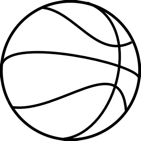 Basketball Template basketball coloring pages 2 coloring town