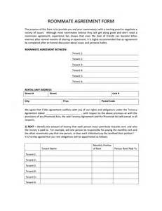 free sle contract templates roommate agreement template cyberuse