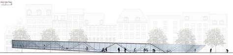 To Organize Gallery Of Amsterdam Iconic Pedestrian Bridge Proposal