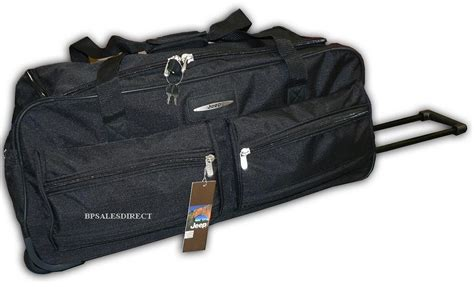 Jeep Bags 31 Quot Inch Jeep Wheeled Holdall Duffle Travel Bag Luggage