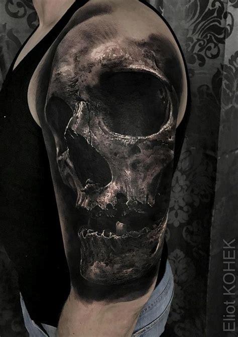 3d skull tattoo 134 best skull tattoos images on skull tattoos
