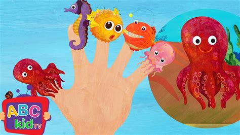 finger family sea animals cocomelon nursery rhymes doovi