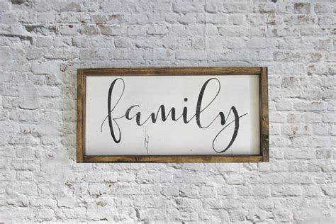 wall decor signs family wood sign rustic signs gallery wall decor farmhouse