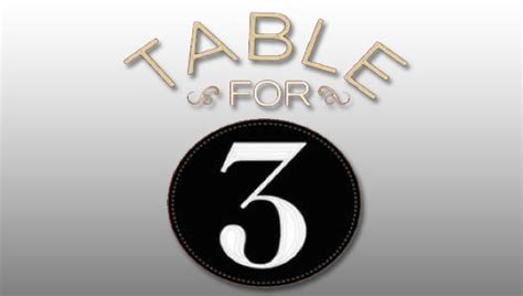 wwe table for 3 watch wwe table for 3 season 3 episode 1 full show online free
