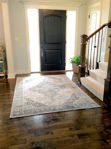 life love larson  entry rug
