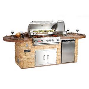Kitchen Island Grill by Bull Outdoor Leisure Q Grilling Island Woodlanddirect