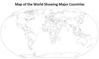 Outline Map Of The World To Print by Printable Outline Map Of The World