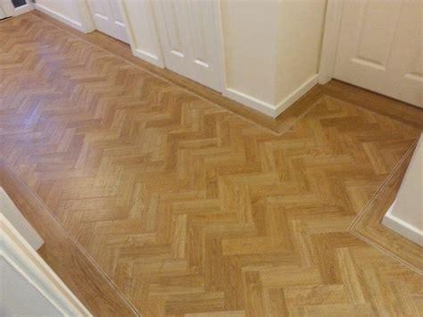 Amtico Signature Flooring by Amtico Signature American Oak Herringbone With Tramline