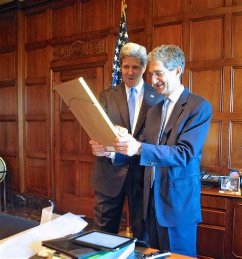 office of the secretary department of commerce acting secretary cameron kerry is joined by his brother