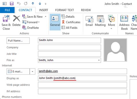 format email address with name bug angle brackets are not used in email address format
