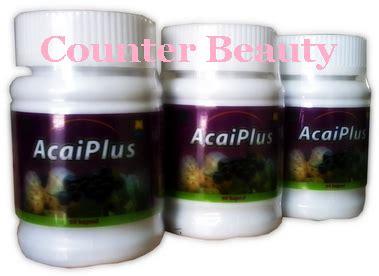Acai Plus Suplemen Obat Pelangsing Tubuh acai plus counter