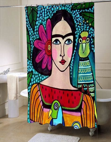 Frida Kahlo Home Decor by Frida Kahlo Shower Curtain Customized Design For Home