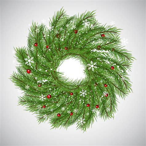 christmas background  wreath   vectors clipart graphics vector art