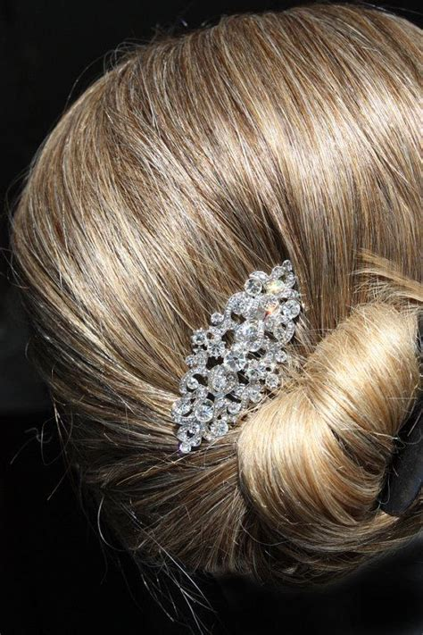 Vintage Wedding Combs For Hair by Vintage Silver Bridal Hair Comb Wedding Hair Comb Wedding