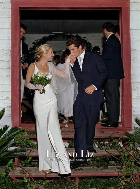 carolyn bessette kennedy wedding carolyn bessette white sheath satin bridal gown celebrity
