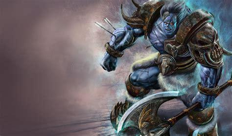 league of legends wallpaper sion the undead chion