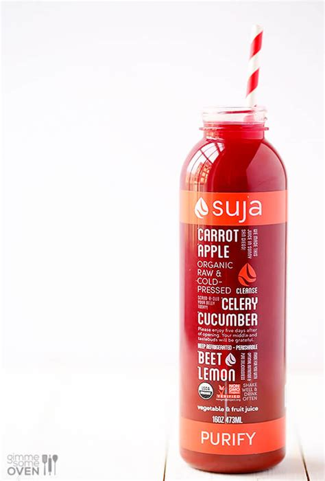 Suja Detox Drinks by My 3 Day Suja Juice Cleanse Gimme Some Oven