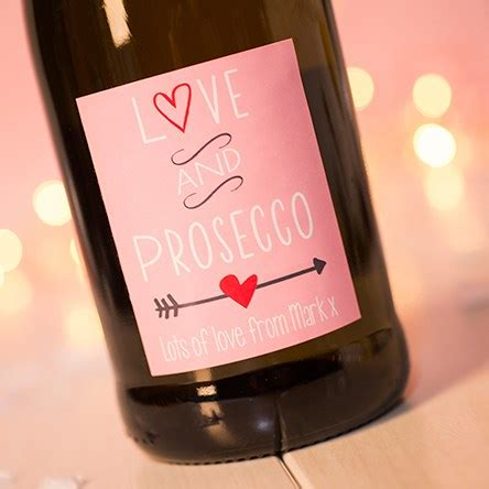 Getting Personal personalised prosecco gettingpersonal co uk