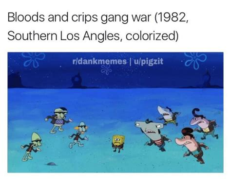 what color are crips bloods and crips war 1982 southern los angles