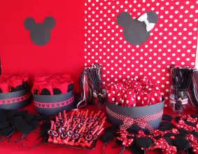 Mickey And Minnie Favors by Minnie Mickey Favor Table Flickr Photo
