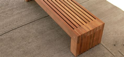 landscape forms bench palisade bench