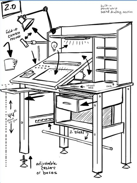 Wood Plan Drafting Table Plans Pdf