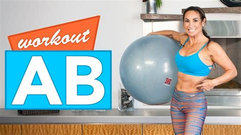 ab workout with stability natalie