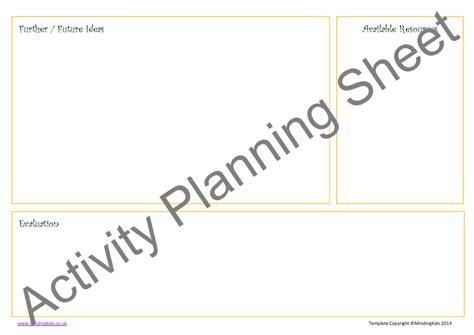 activity planning pack mindingkids