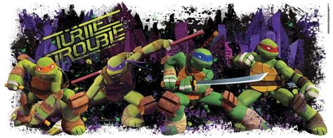 new mutant turtles turtle trouble wall decal