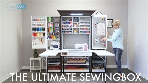 Box House Plans by The Ultimate Sewingbox Youtube