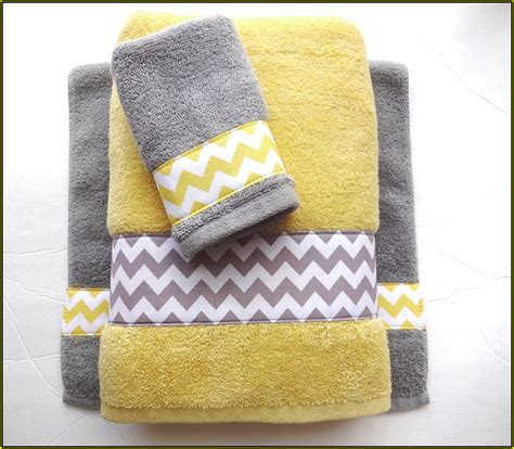 Grey And Yellow Kitchen Ideas - designer bath rugs and towels home design ideas