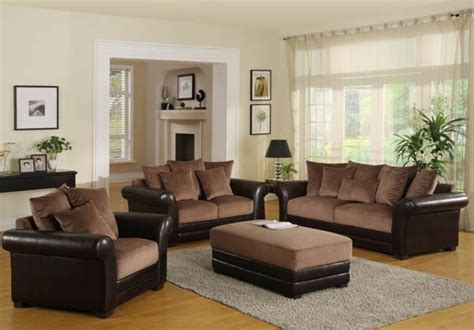 pictures of living rooms with brown sofas living room paint ideas with brown furniture on living