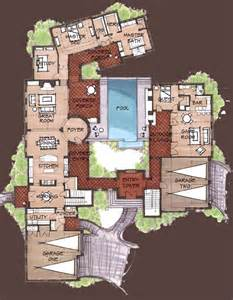 Spanish Style House Plans With Courtyard Hacienda Style Homes Spanish Hacienda Floor Plans
