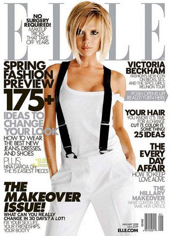 Beckham Is Magazines Of The Year by Beckham Covers Magazine January 2008