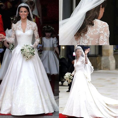 S Wedding Dresses by Who Designed Kate S Wedding Dress Fashion Dresses