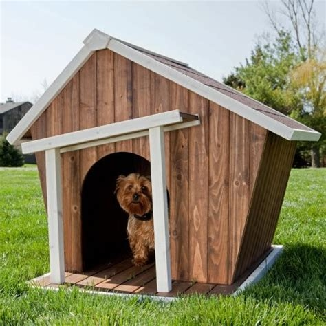 dog house accessories coral coast habitats crooked dog house eclectic pet supplies by hayneedle